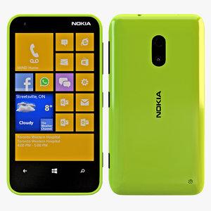 nokia lumia 620 green max