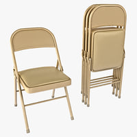 3d steel fold chair hon