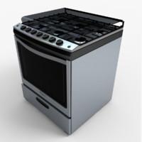 3ds max stove wf6550s