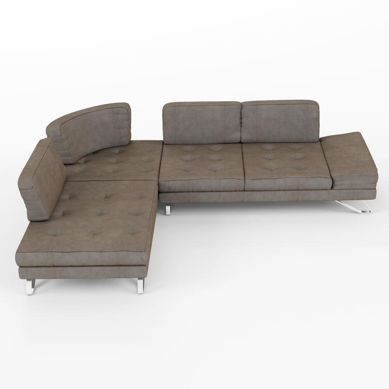 sofa miti 3d 3ds