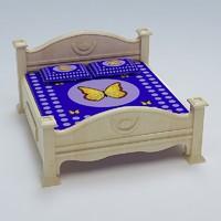 3d model bed cot