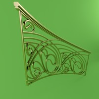 3ds max forging stair railing