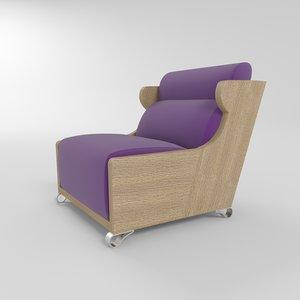 3d promemoria gilda chair