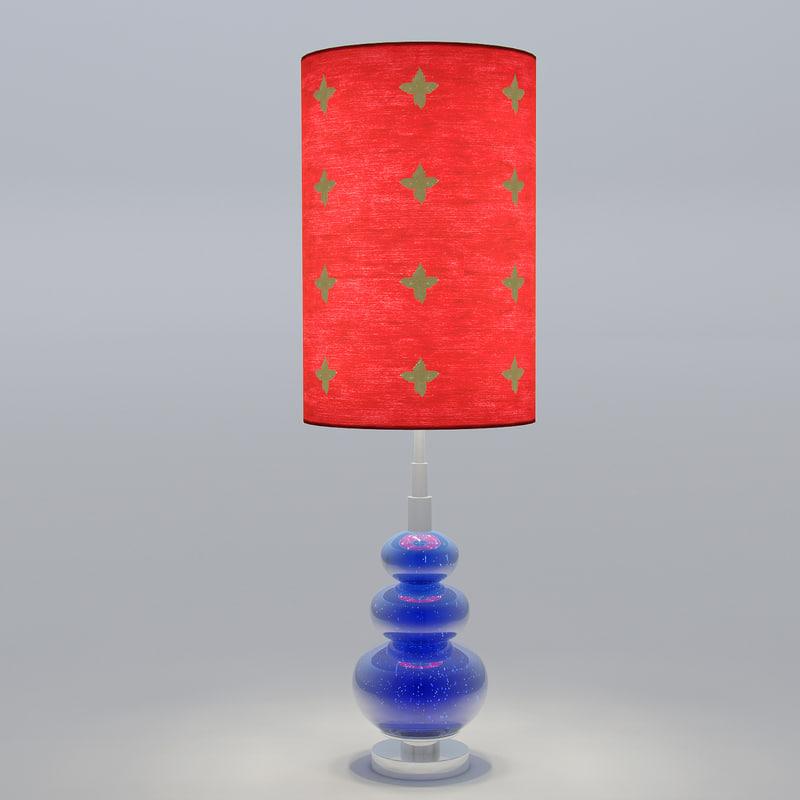 lamp modern interior 3d model