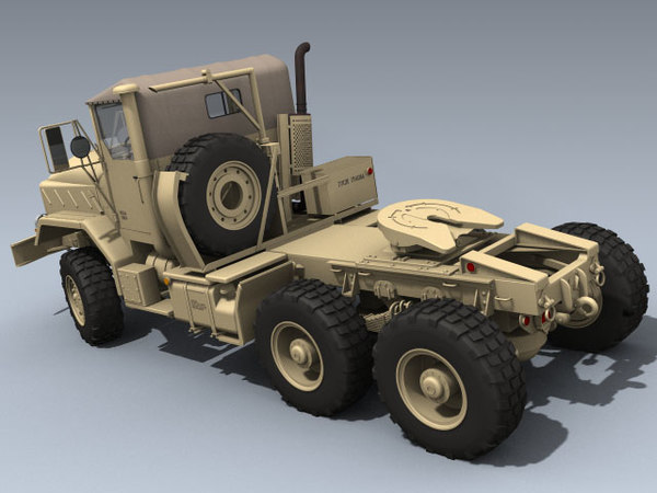 3d army m932a2 tractor desert