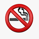 No Smoking symbol 3D models