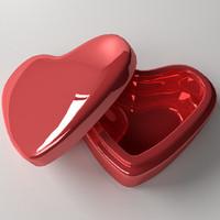 valentine box 3d model