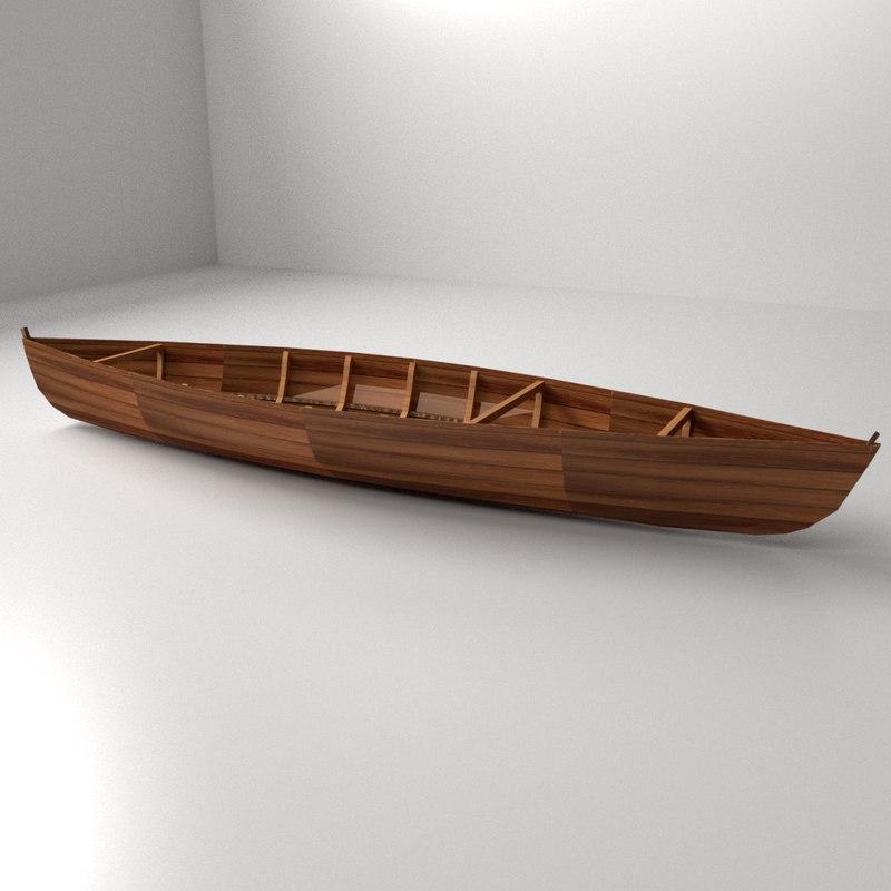 3ds max canoe
