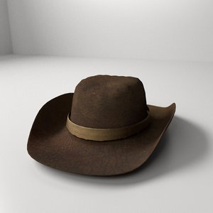 cow hat 3d 3ds