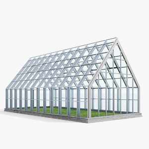 3ds max greenhouse house