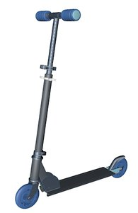 3d scooter s model