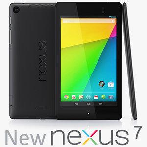 3d google nexus 7 2013 model