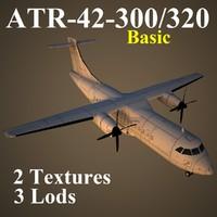 3d atr-42-300 basic model