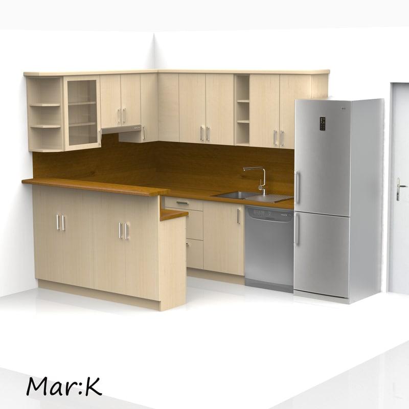 c4d kitchen