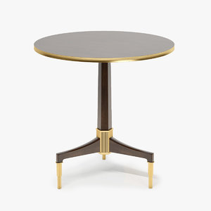 baker furniture newel table max