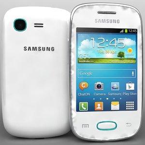 samsung galaxy pocket neo 3d model