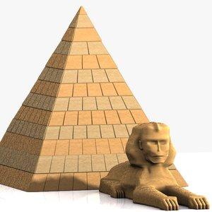 max car pyramid sphinx