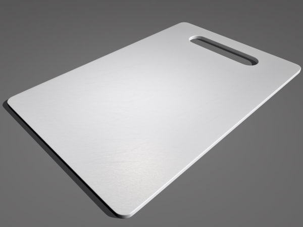 3d model plastic cutting board
