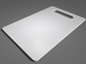 3d model plastic cutting board