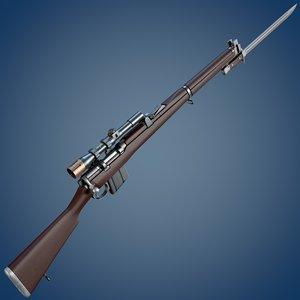 3d isaphore 2a1 rifle scope