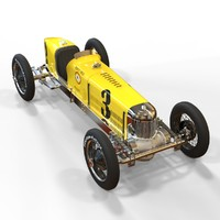 3d miller racing car 91 model