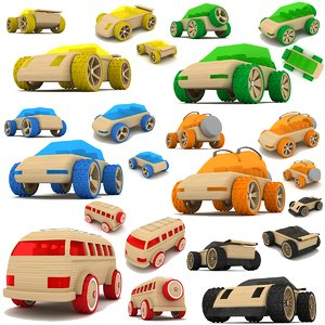 max wooden toy cars