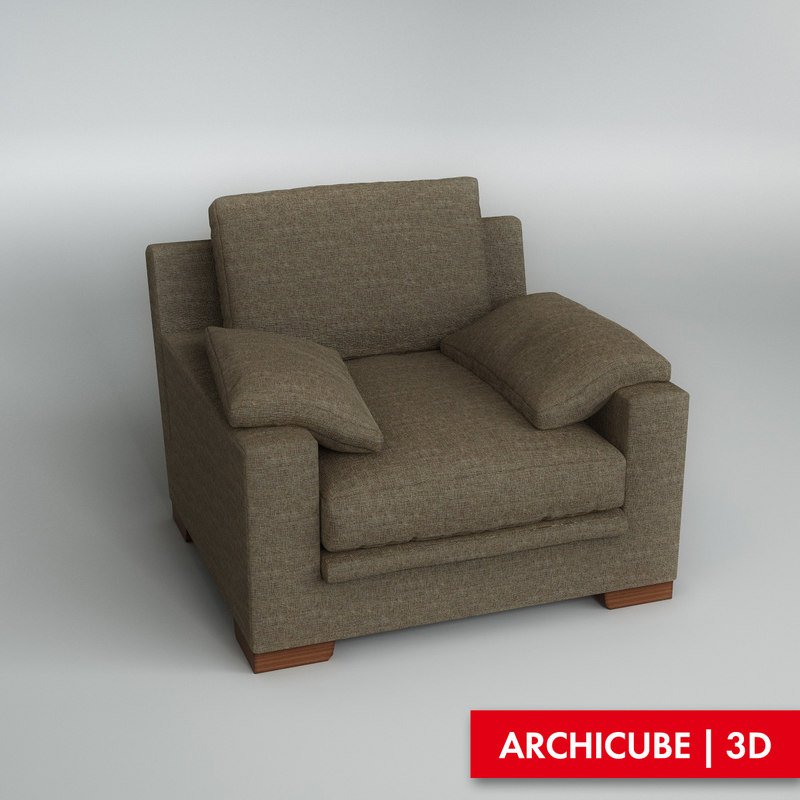 3d model maximedue chair armchair