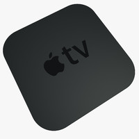 apple tv 3d model