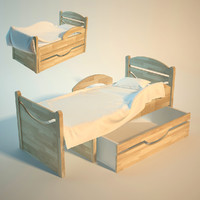 Baby bed Rostushko 7. Two variants