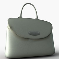 Hand Bag Low Poly 01
