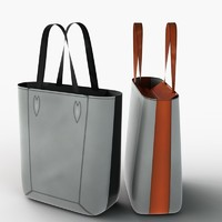 Hand Bag Low Poly 02