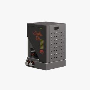 3dsmax coffee machine