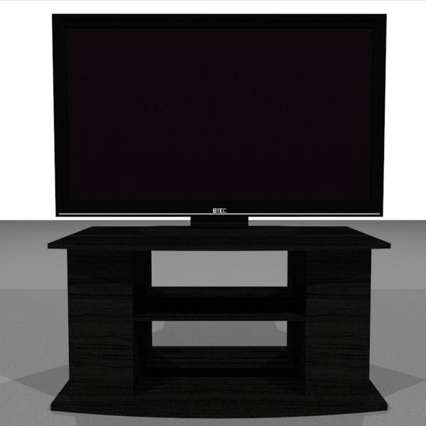 television hd 3d model
