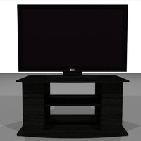 HD Television With Stand