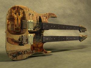 3ds ibanez double neck guitar