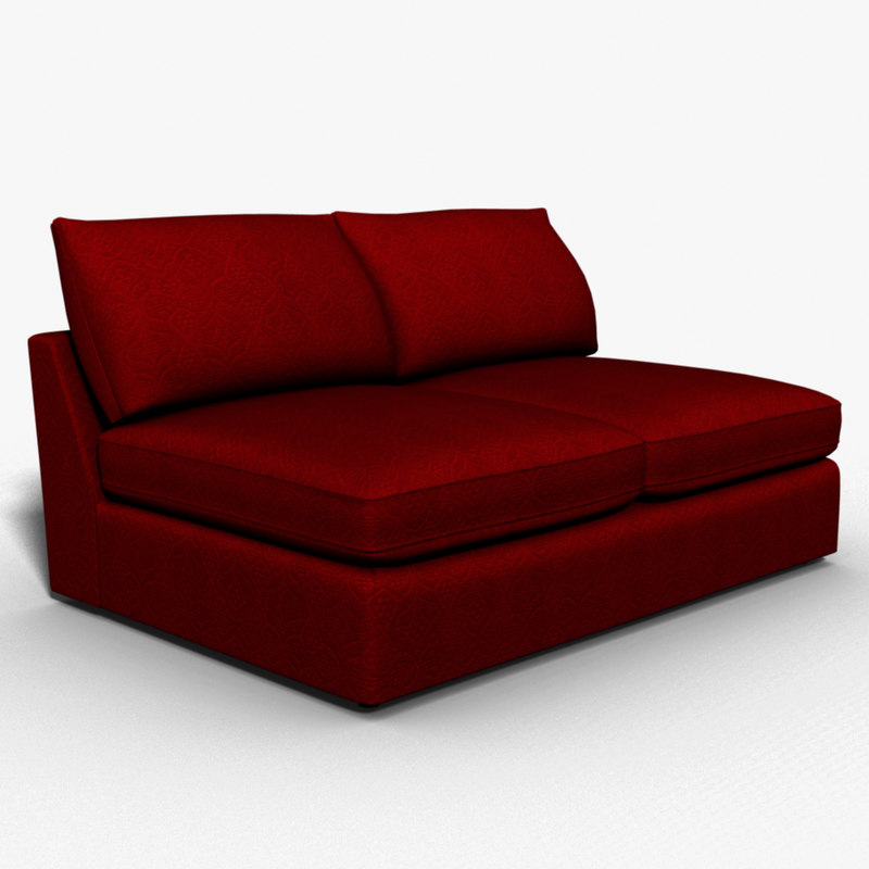 3d model select sofas sectional