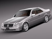 3d model mercedes mercedes-benz luxury benz