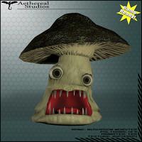mushroom monster 3d fbx