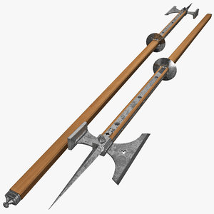 max poleaxe weapon