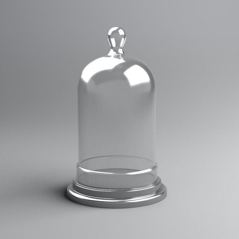 bell jar 3d max