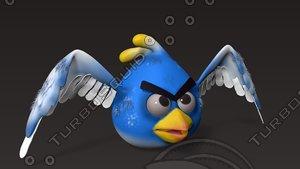 cartoon bird 3d max