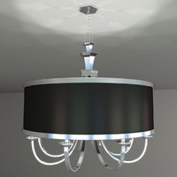 chandelier lights 3d max