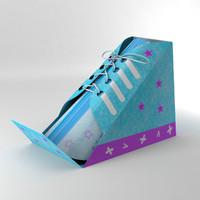 3d model of gift box