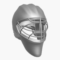 3d hockey mask
