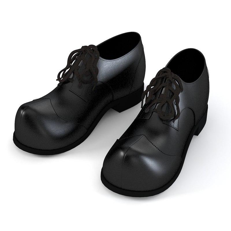 men shoes 3d 3ds