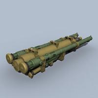 strelets sa-24 3d model