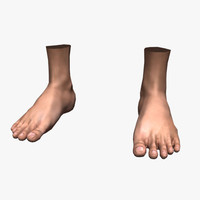 Feet (Rigged)