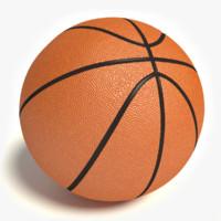 3dsmax basketball ball basket