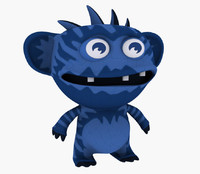 3ds max avatar cartoon monstr