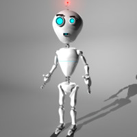Cute Robot - Rigged